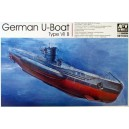 1:350 German U-Boat Type VII B