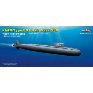 1/350 PLAN Type 091 Han Class Submarine