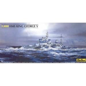 1/400 HMS King George V