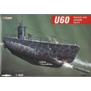 1/400  U 60 GERMAN SUBMARINE