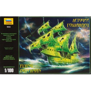 1/100 Barco Fantasma Flying Dutchman