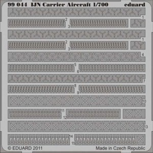 1/700 IJN Detalles para aviones portaaviones