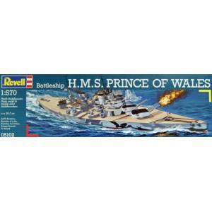 1/570 ACORAZADO BRITANICO H.M.S PRINCIPE DE GALES