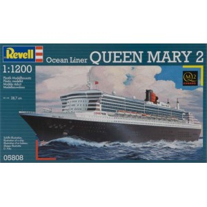 1/1200 Ocean Liner QUEEN MARY II