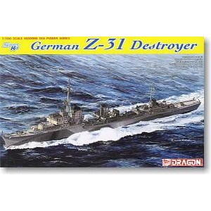 German Z-31 Destroyer