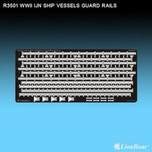 1/350 WWII U.S.Navy Vessels Guard Rails