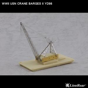 1/700 WWII USN Crane Barges II
