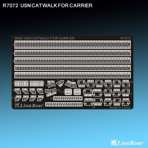 1/700 WWII US Navy Cat Walk for Carriers