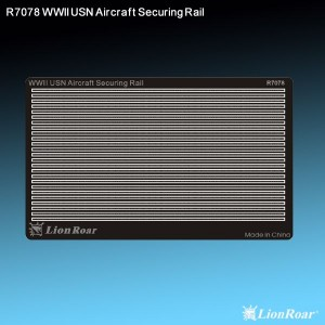 1/700 WWII USN Aircraft Securing Rail