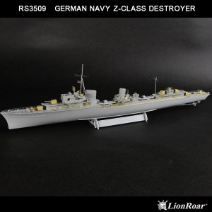 1/350 WWII German Navy Z-Class Destroyer