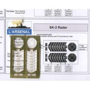 1/350 SK-2 radar