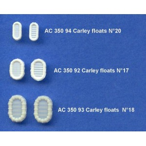 1/350 Carley floats small size N°20
