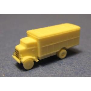 1/350 Autocar U-8144 van body truck
