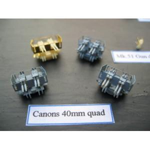 1/400 40mm Bofors quad