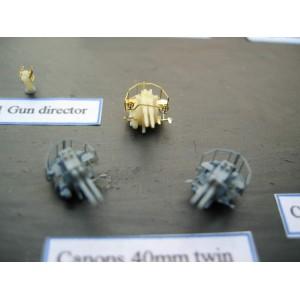 1/400 40mm Bofors twin