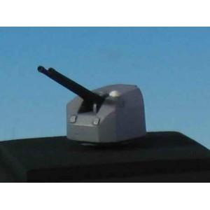 1/400 127mm turrets