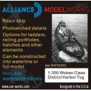 1/350 Woban Class District Harbor Tug Boat