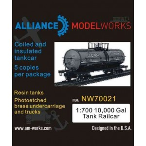 1/700 10.000 Gal Tank Rail Car