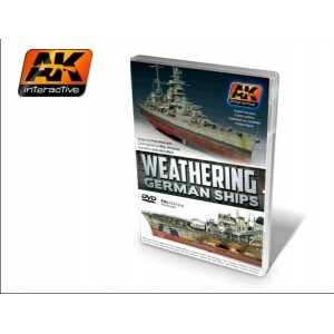 DVD WEATHERING GERMAN SHIPS (NTSC USA / JAPAN)
