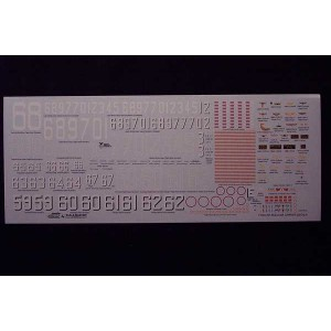 1/700 USN Supercarrier Decals