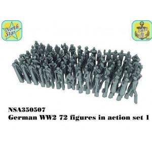 1/350 German WW2 figures set 1