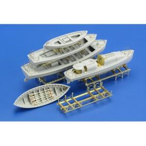 1/200 USS Arizona Part 3. life boats