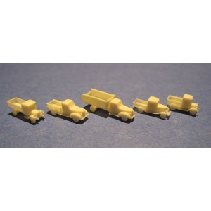 1/350 US Commercial vehicles of the 30's