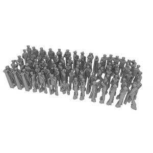 1/700 US NAVY figures set 1