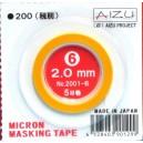 Micron Masking Tape 2mm