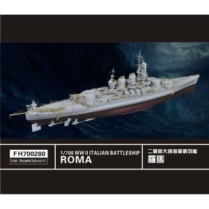 1/700 Battleship ROMA Photoetch