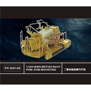 1/350 British Navy Pom-Pom Mounting