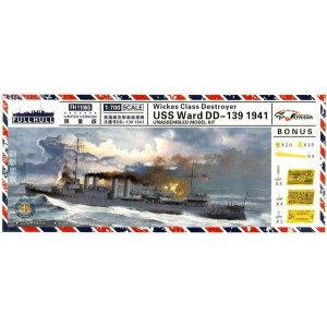 1/700 USS Ward 1941 Limited Version