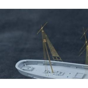 1/350 WWII Merchant Ship Mast Set