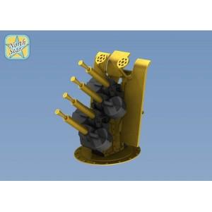 1/350 RN Quad 0.5(12.7 mm) Vickers