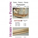 1/96 Masts and Yards Papegojan