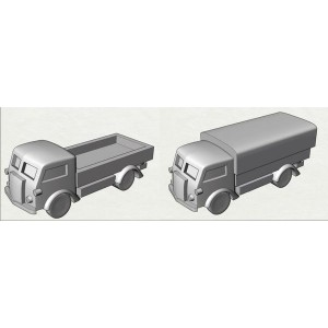 10 L/'Arsenal Models 1//350 ITALIAN FIAT 626 MEDIUM TRUCKS Resin Set