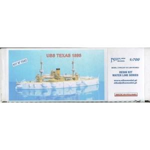 1/700 USS Texas 1895