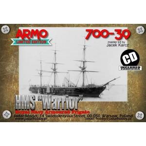 1/700 HMS Warrior 1860
