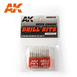Drill Bits 0.4 - 1.3mm