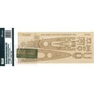 1/700 Scharnhorst 1943 Wooden Deck