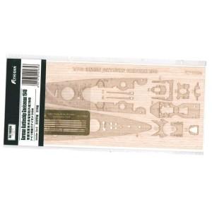 1/700 Gneisenau 1940 Wooden Deck