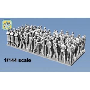 1/144 German Kriegsmarine figures – Big set 2