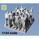 1/144 German WWII Kriegsmarine figures – Sailors 2