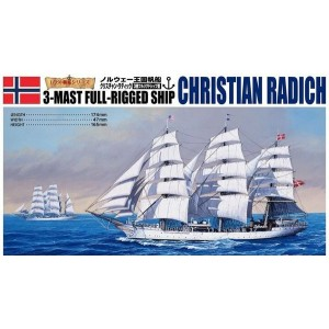 1/350 Sailing Ship Christian Radich