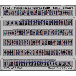 1/350 Passengers figures 1920