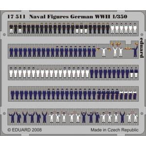 1/350 Naval Figures German WWII