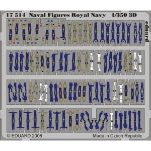 1/350 Figures Royal Navy Color 3D