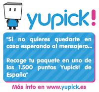 Recoge tus pedidos en un punto YUPICK