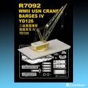 1/700 WWII US Navy Crane Barges IV