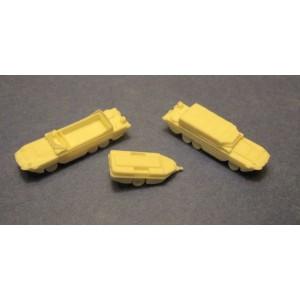 1/350 DUKW amphibious trucks